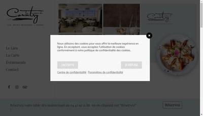 Site internet de Les Terrasses du Country