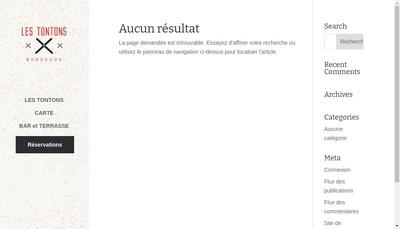 Site internet de Restaurant Gargalou