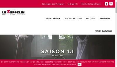 Site internet de Le Zeppelin