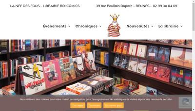 Site internet de La Nef des Fous