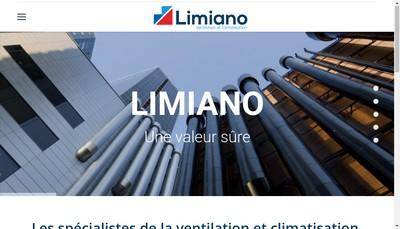 Site internet de Limiano Ventilation - Climatisation