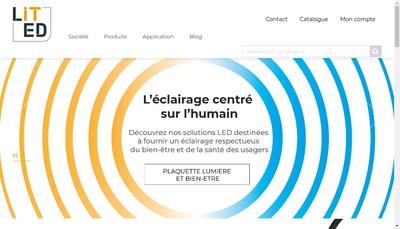 Site internet de Lited