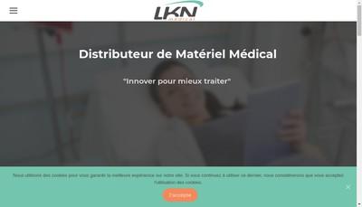 Site internet de Lkn Medical