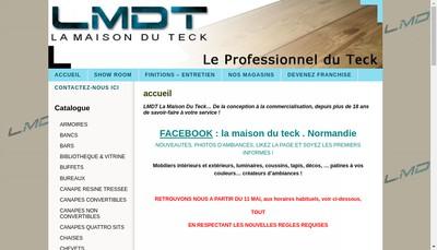 Site internet de La Maison du Teck