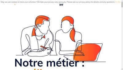 Site internet de Lnf - les Nouvelles Formations