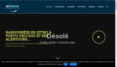 Site internet de Jet Evasion Pinarello