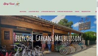 Site internet de Bicy'Cool