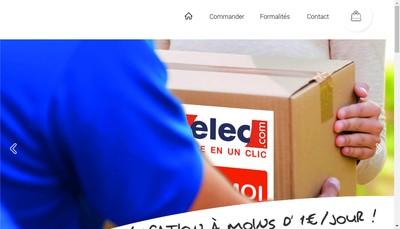 Site internet de Locelec