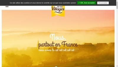 Site internet de L'Oeuf de Nos Villages