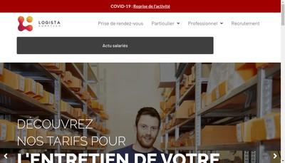 Site internet de Logista