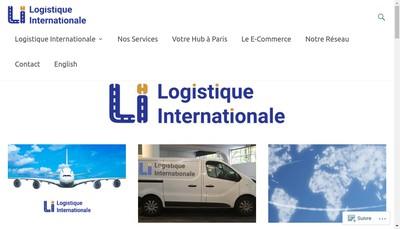 Site internet de Logistique Internationale