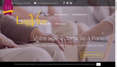 Site internet de Association Logivitae Animations