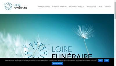 Site internet de Pompes Funebres Pascal Leclerc