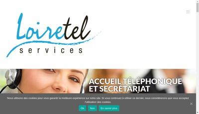Site internet de Loiretel Services