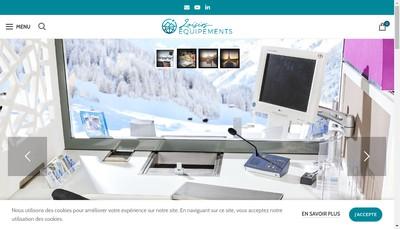Site internet de Loisirs Equipements