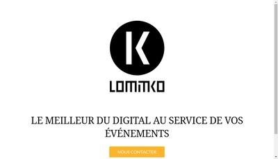 Site internet de Lomitko