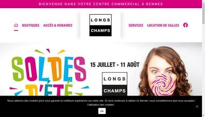 Site internet de GIE Centre Commercial Longchamps