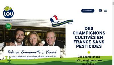 Site internet de Lou Legumes