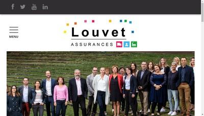 Site internet de Louvet Assurances