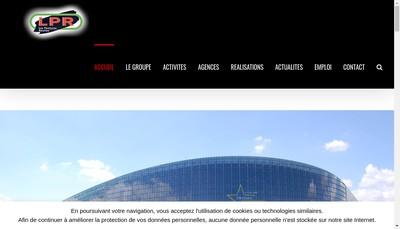 Site internet de Les Peintures Reunies