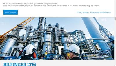 Site internet de LTM