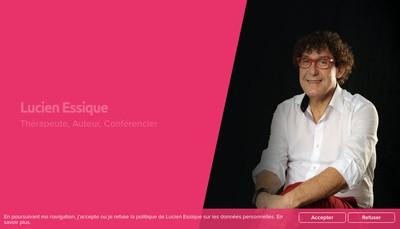 Site internet de Lucien Essique