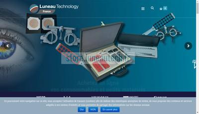 Site internet de Luneau Ophtalmologie