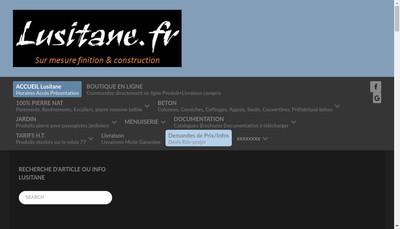 Site internet de Lusitane