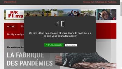 Site internet de M2R