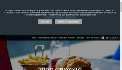 Site internet de Mac Ankara