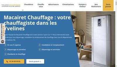 Site internet de Rapid'Plomberie