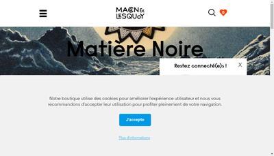 Site internet de Macon&Lesquoy