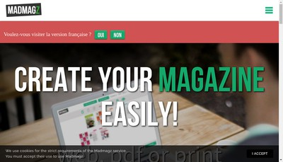 Site internet de Madmagz