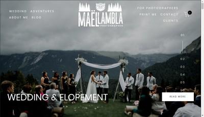 Site internet de Mael Lambla