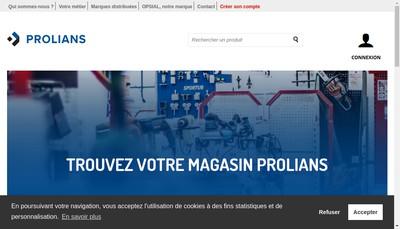 Site internet de Etablissements Baures-Produits Metallurgiques