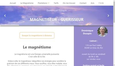Site internet de Dominique Dusapin