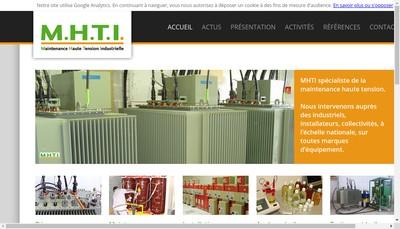 Site internet de MHTI