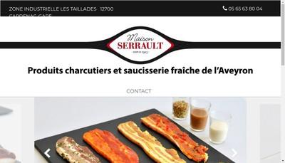 Site internet de Etablissements L Serrault
