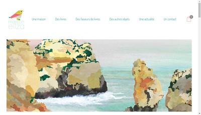 Site internet de Maison Eliza