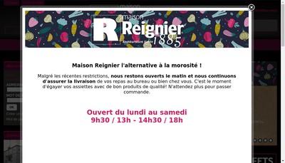 Site internet de Maison Reignier