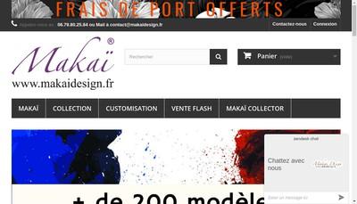 Site internet de Makai
