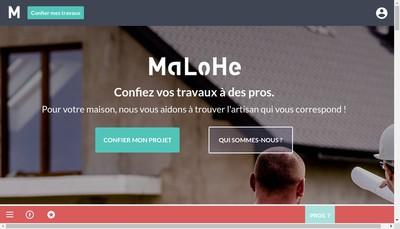 Site internet de Malohe
