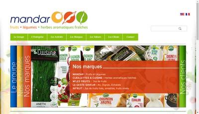 Site internet de Halles Mandar