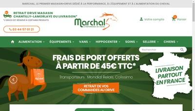 Site internet de Societe Marchal