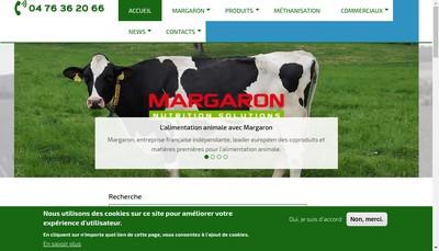 Site internet de Margaron SAS