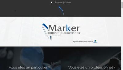 Site internet de Marker