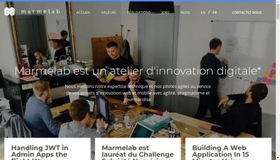 Site internet de Marmelab