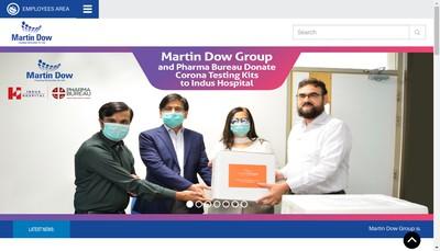 Site internet de Martin Dow Healthcare