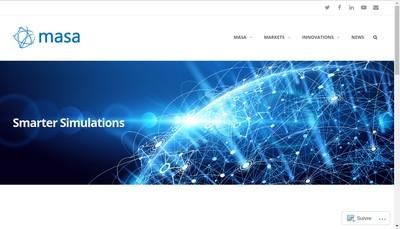 Site internet de Masa Group