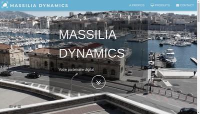 Site internet de Massilia Dynamics
